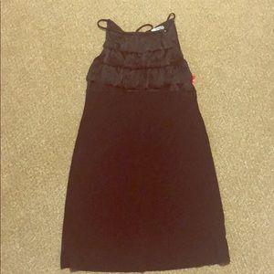 Sweet Storm Ruffle Dress